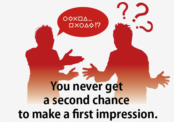 第一印象を変える機会